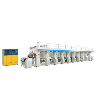 High Speed Computer Color Register Gravure Printing Machine