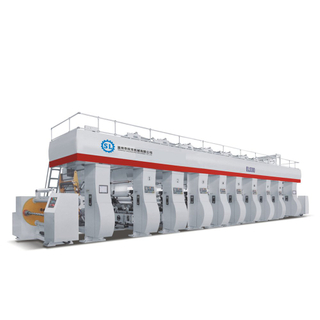 ELS High Speed Computer Color Register Rotogravure Printing Machine